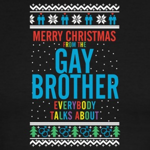 Merry christmas from the gay brother everybody - Men's Ringer T-Shirt