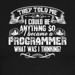 Silly Programmer Tshirt - Men's Ringer T-Shirt