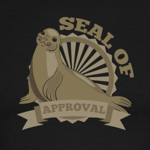 seal of approval - Men's Ringer T-Shirt