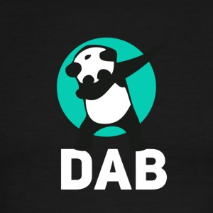 DAB panda dabbing football touchdown mooving dance - Men's Ringer T-Shirt