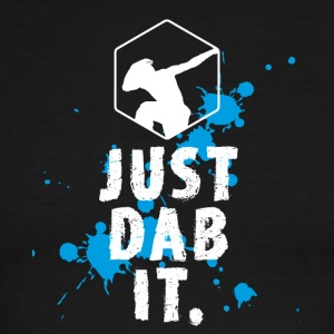 dab just dab it dabbing Football touchdown Panda - Men's Ringer T-Shirt