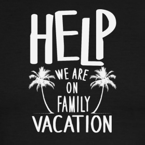 Help We Are On Family Vacation - Men's Ringer T-Shirt