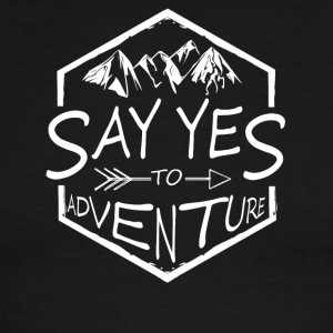 Say yes to Adventure! - Men's Ringer T-Shirt