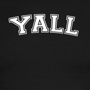 Y'all Funny Yale Parody School Tee Shirt - Men's Ringer T-Shirt