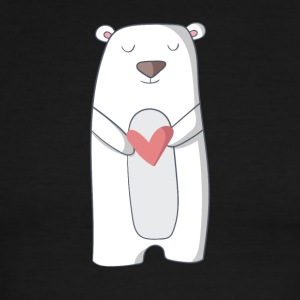 polar bear - Men's Ringer T-Shirt
