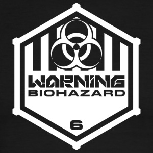 Warning: Biohazard - Men's Ringer T-Shirt