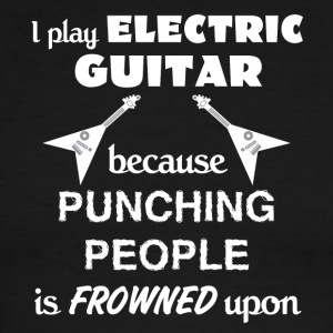 Electric Guitar Love Gift- cool shirt,geek hoodie - Men's Ringer T-Shirt