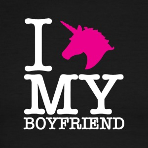 I Unicorn my boyfriend. - Men's Ringer T-Shirt