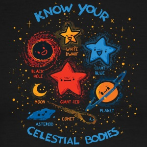 Know Your Celestial Bodies - Men's Ringer T-Shirt