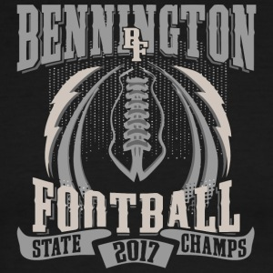 Bennington BF Football State 2017 Champs - Men's Ringer T-Shirt