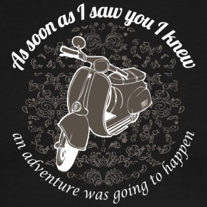 Vespa - As soon as I saw you I knew... - Men's Ringer T-Shirt