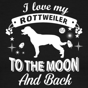 Love you Rottweiler - Men's Ringer T-Shirt