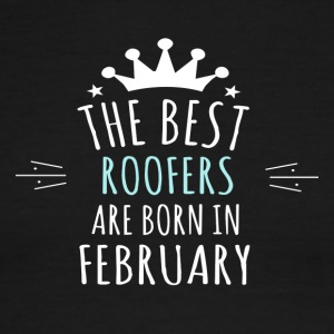 Best ROOFERS are born in february - Men's Ringer T-Shirt