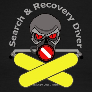 Search And Recovery Diver Yellow Bottles - Men's Ringer T-Shirt