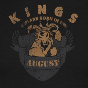 Kings are born in August - Men's Ringer T-Shirt