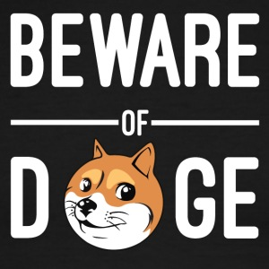 Beware of doge - Men's Ringer T-Shirt