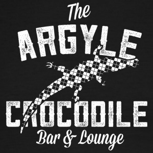 Argyle Crocodile T Shirt - Men's Ringer T-Shirt
