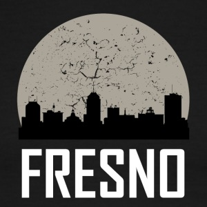 Fresno Full Moon Skyline - Men's Ringer T-Shirt