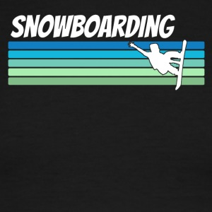 Retro Snowboarding - Men's Ringer T-Shirt