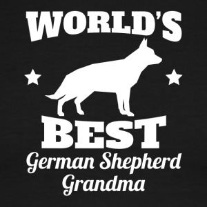 Worlds Best German Shepherd Grandma - Men's Ringer T-Shirt