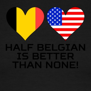 Half Belgian Is Better Than None - Men's Ringer T-Shirt
