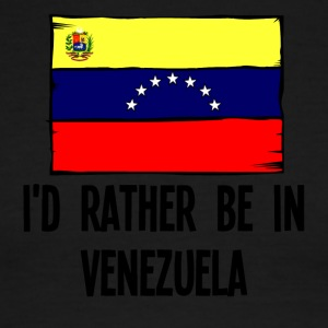 I'd Rather Be In Venezuela - Men's Ringer T-Shirt