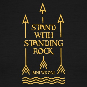 Stand With Standing Rock Official Shailene Woodley - Men's Ringer T-Shirt