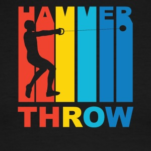 Vintage Hammer Throw Graphic - Men's Ringer T-Shirt