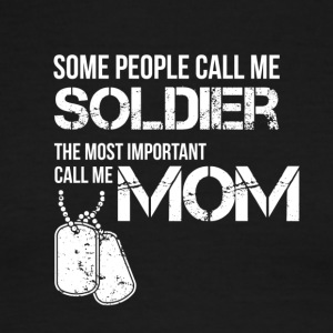 Some people call me soldier - Men's Ringer T-Shirt