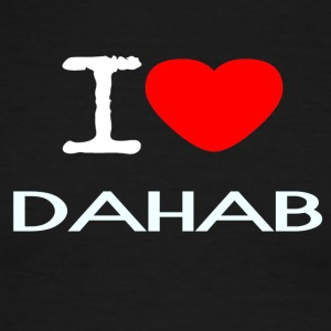 I LOVE DAHAB - Men's Ringer T-Shirt
