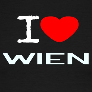 I LOVE WIEN - Men's Ringer T-Shirt