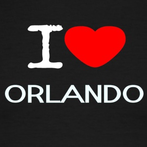 I LOVE ORLANDO - Men's Ringer T-Shirt