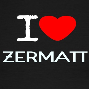 I LOVE ZERMATT - Men's Ringer T-Shirt