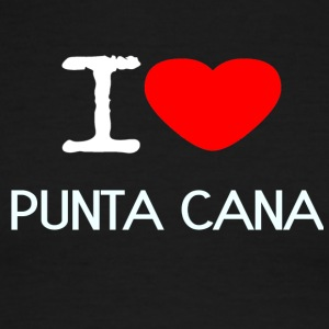I LOVE PUNTA CANA - Men's Ringer T-Shirt
