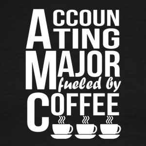 Accounting Major Fueled By Coffee - Men's Ringer T-Shirt
