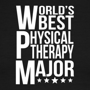World's Best Physical Therapy Major - Men's Ringer T-Shirt