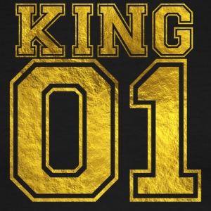 King_01_gold_1 - Men's Ringer T-Shirt