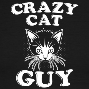 Crazy Cat Guy - Men's Ringer T-Shirt