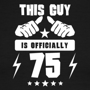 This Guy Is Officially 75 - Men's Ringer T-Shirt