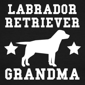 Labrador Retriever Grandma - Men's Ringer T-Shirt