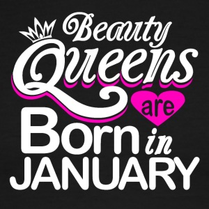 Beauty Queens Born in January - Men's Ringer T-Shirt