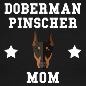 Doberman Pinscher Mom Dog Owner - Men's Ringer T-Shirt
