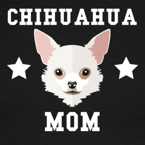 Chihuahua Mom Dog Owner - Men's Ringer T-Shirt
