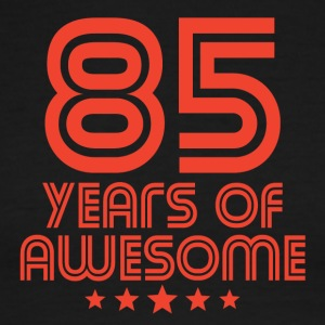 85 Years Of Awesome 85th Birthday - Men's Ringer T-Shirt