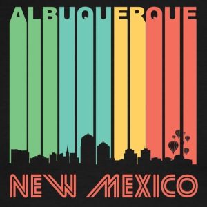 Retro Albuquerque Skyline - Men's Ringer T-Shirt