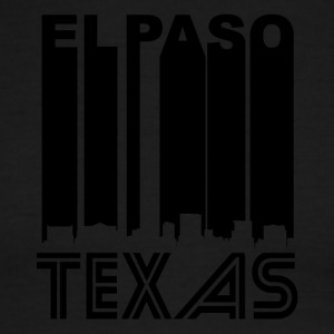 Retro El Paso Skyline - Men's Ringer T-Shirt