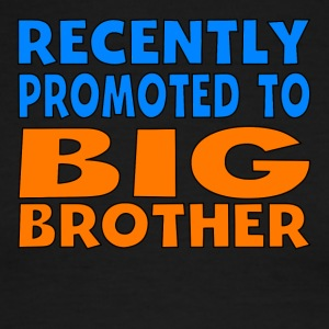 Recently Promoted To Big Brother - Men's Ringer T-Shirt