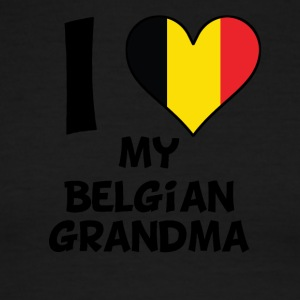 I Heart My Belgian Grandma - Men's Ringer T-Shirt