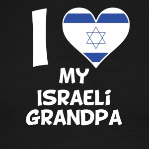 I Heart My Israeli Grandpa - Men's Ringer T-Shirt