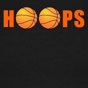 Hoops Basketball - Men's Ringer T-Shirt